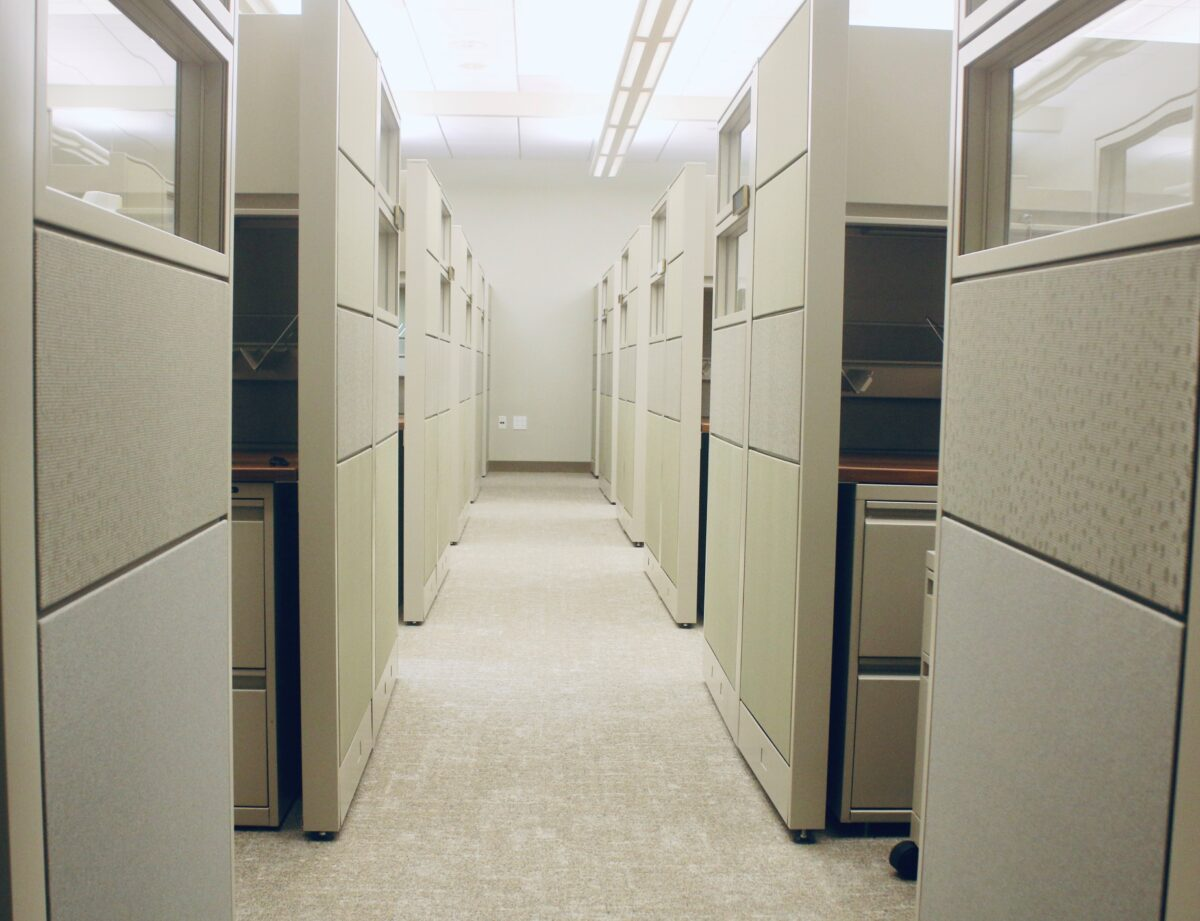 Rows of Cubicals