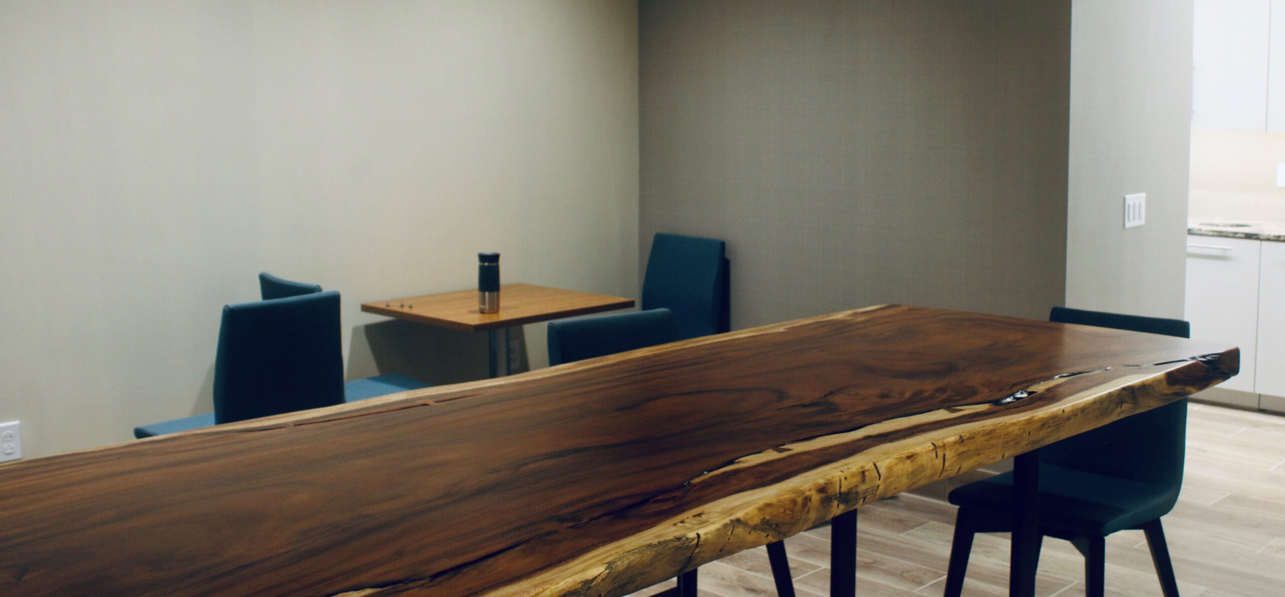 Long Wooden Table